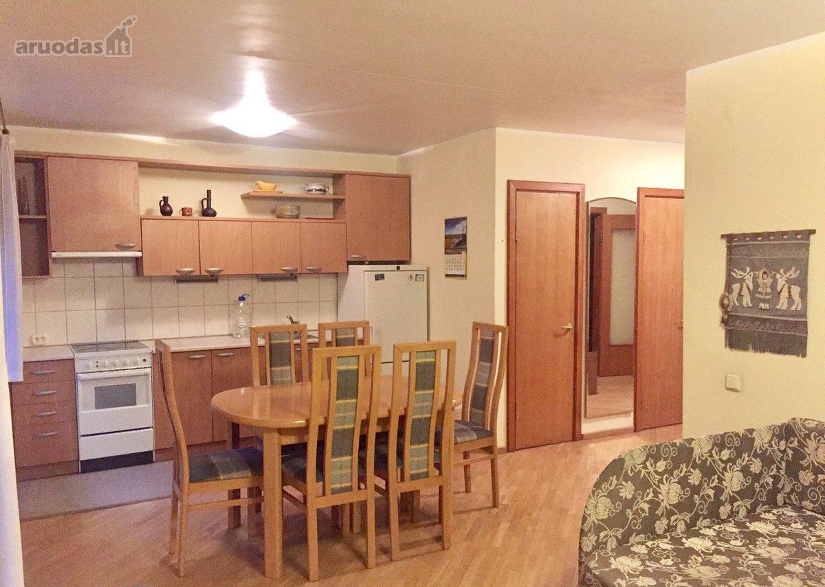 Vilnius, Antakalnis, Tverečiaus g., 3 kambarių buto nuoma
