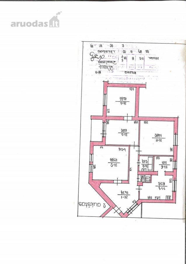 Druskininkų m., Ateities g., 4 kambarių butas