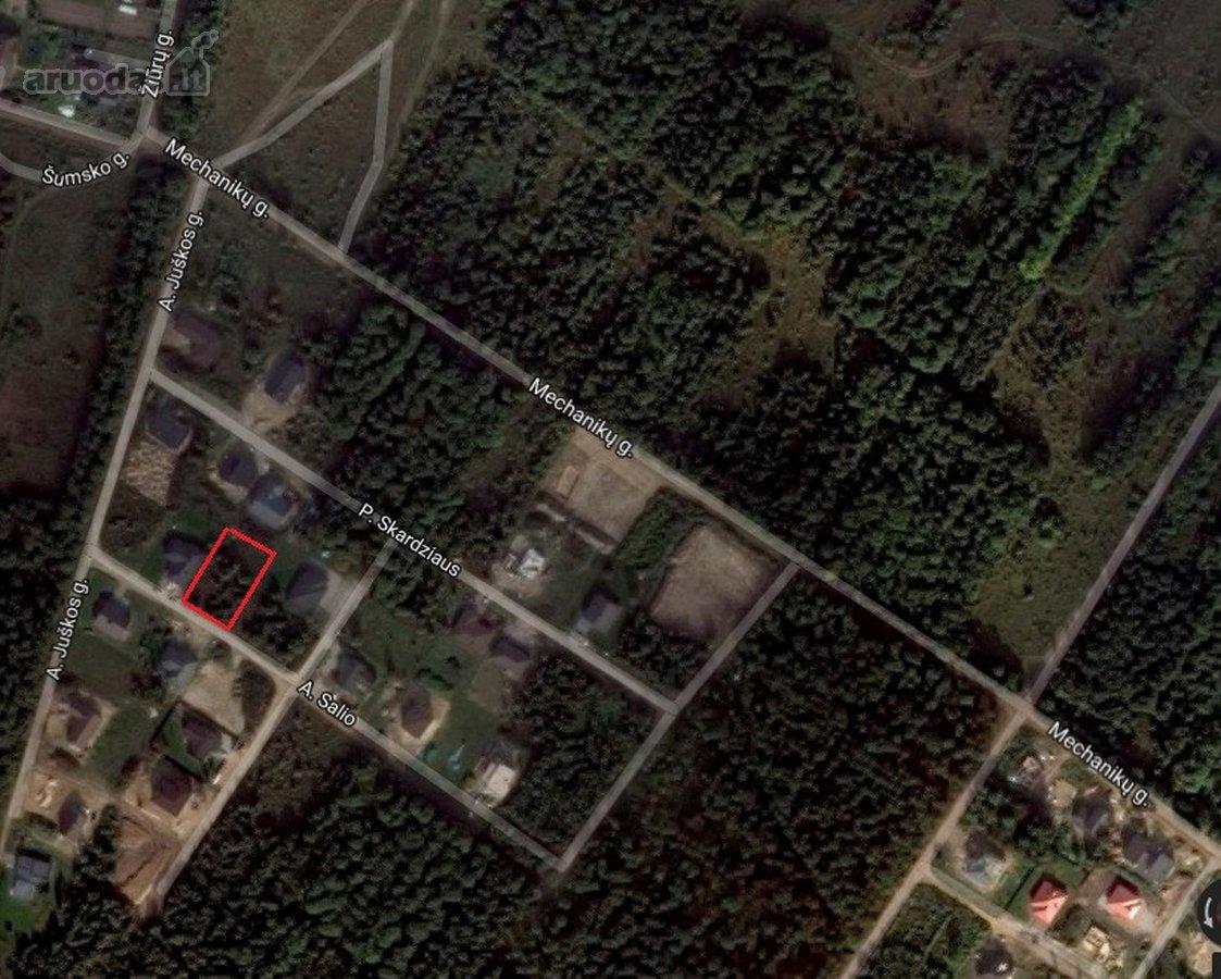 Vilnius, Naujininkai, Antano Salio g., namų valdos paskirties sklypas