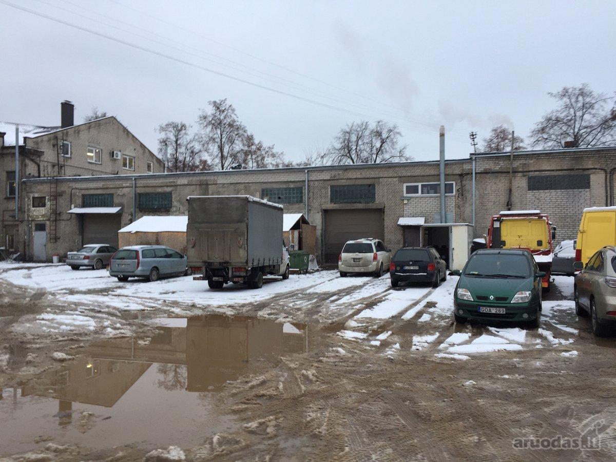 Kaunas, Vilijampolė, Radvilų Dvaro g., sandėliavimo, gamybinės paskirties patalpos