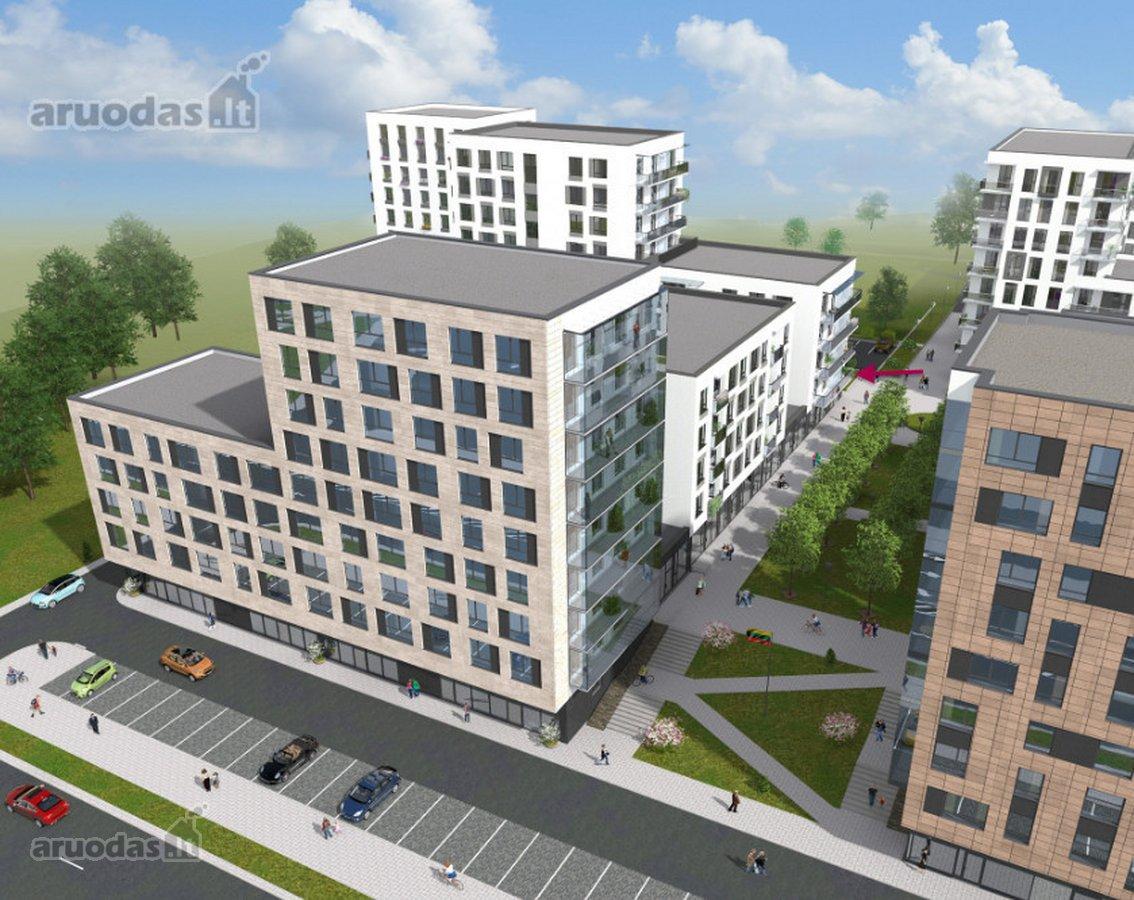 Vilnius, Naujamiestis, Savanorių pr., biuro, prekybinės, paslaugų, kita paskirties patalpos nuomai