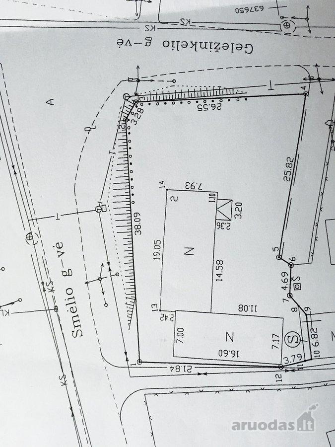 Ignalinos m., Smėlio g., gamybinės, sandėliavimo, kitos paskirties sklypas