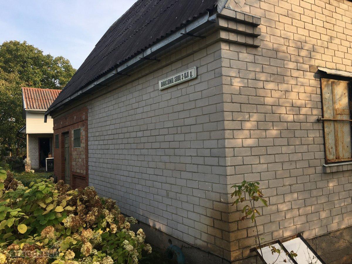 Vilnius, Dvarčionys, Dvarčionių Sodų 3-ioji g., mūrinis sodo namas