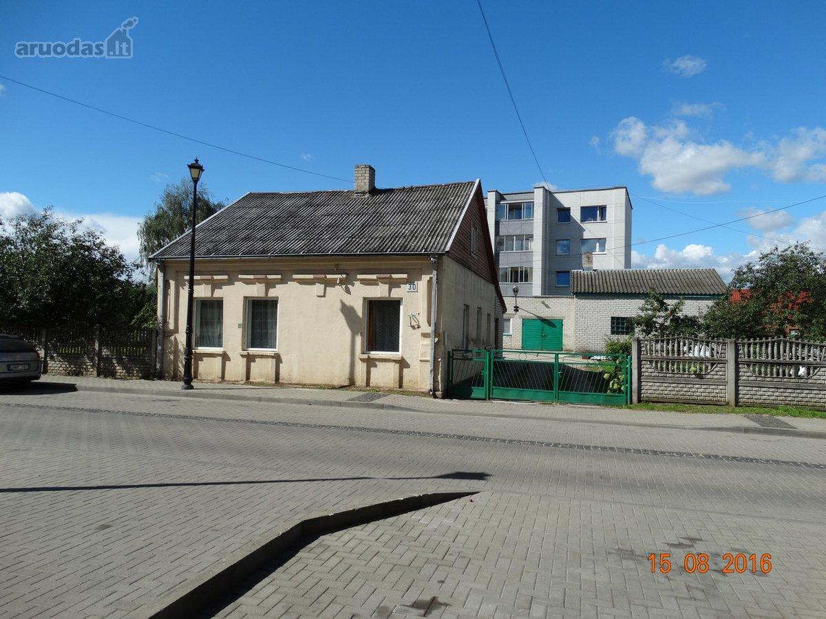 Jonavos m., Vilniaus g., mūrinis namas