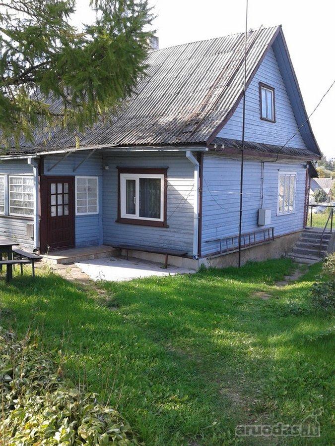 Ukmergės r. sav., Ukmergės m., S. Nėries g., medinis namas
