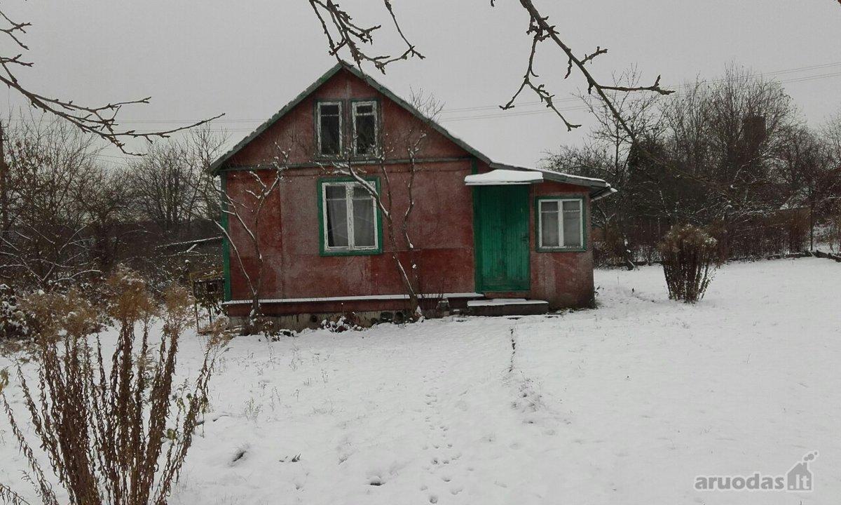 Vilniaus r. sav., Juodiškių k., Rožių 3-ioji g., medinis sodo namas