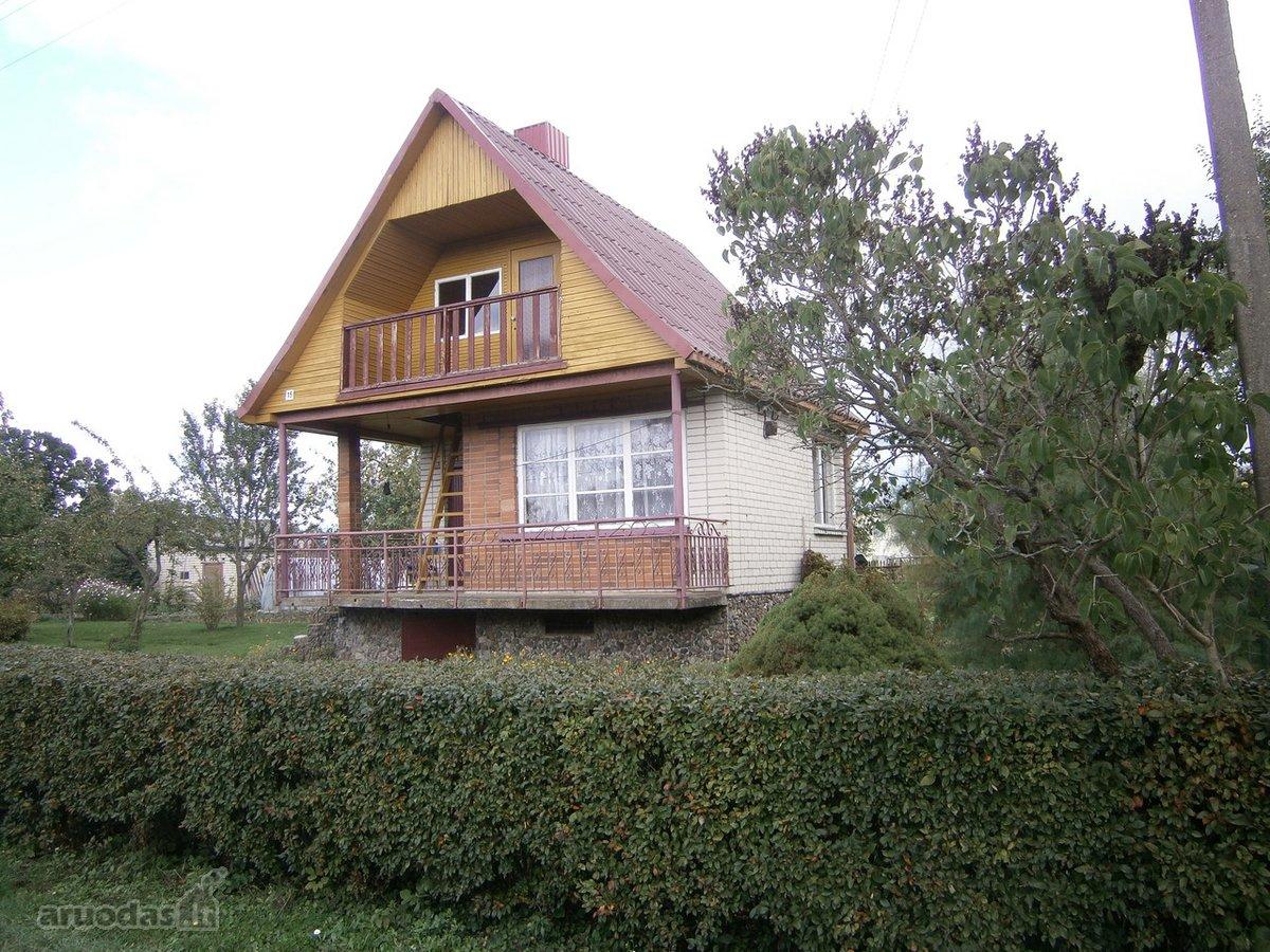 Kauno r. sav., Gervėnupio k., Vanago g., mūrinis sodo namas