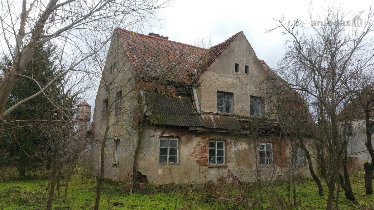 Pagėgių sav., Endriškių k., mūrinis namas