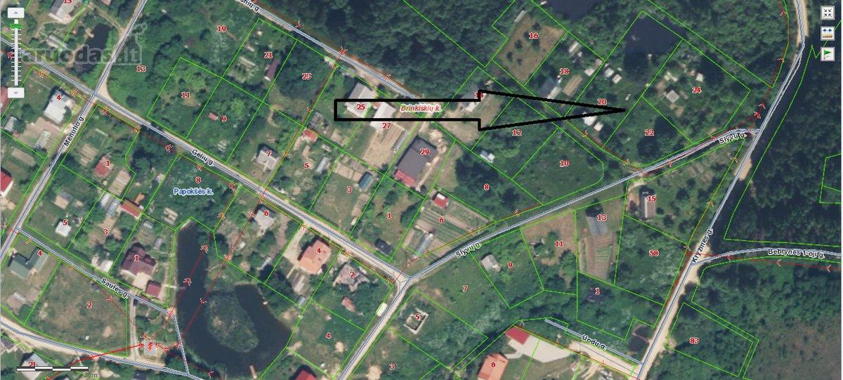 Vilniaus r. sav., Brinkiškių k., Slyvų g., Sodo namas