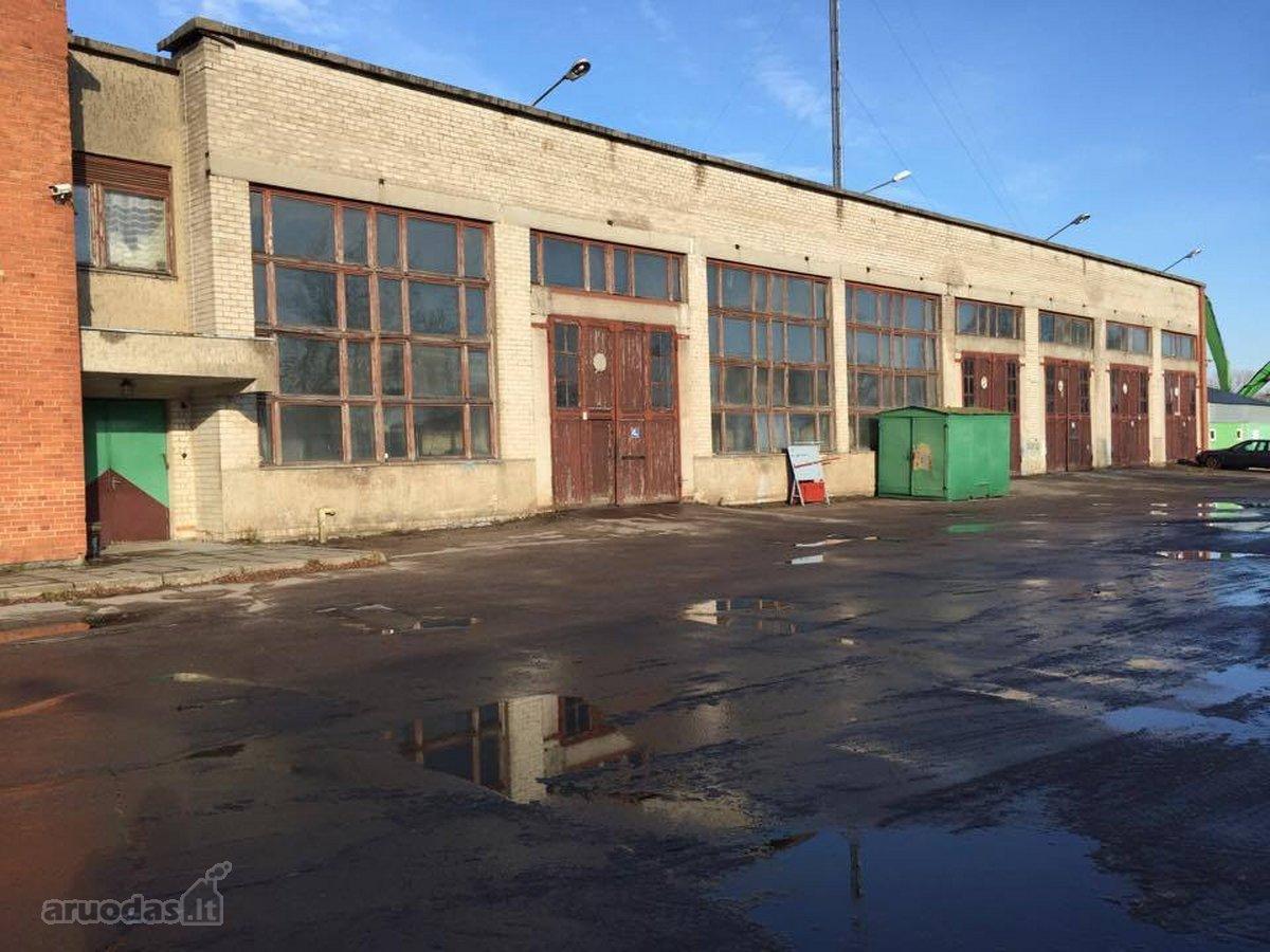 Klaipėda, Žvejybos uostas, Rusnės g., sandėliavimo, gamybinės paskirties patalpos nuomai