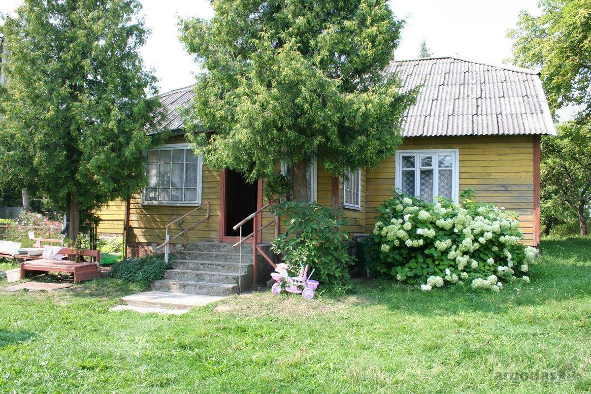 Vilkaviškio r. sav., Kaupiškių k., medinė sodyba