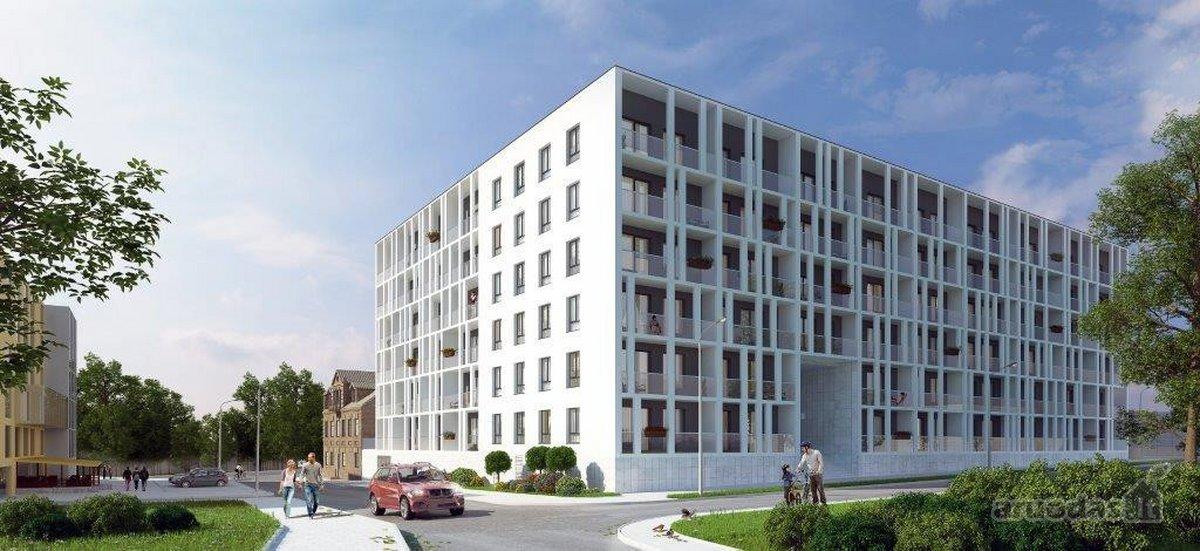 Vilnius, Šnipiškės, Krokuvos g., 3 kambarių butas