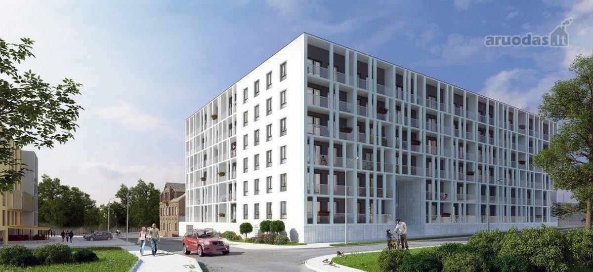 Vilnius, Šnipiškės, Krokuvos g., 4 kambarių butas