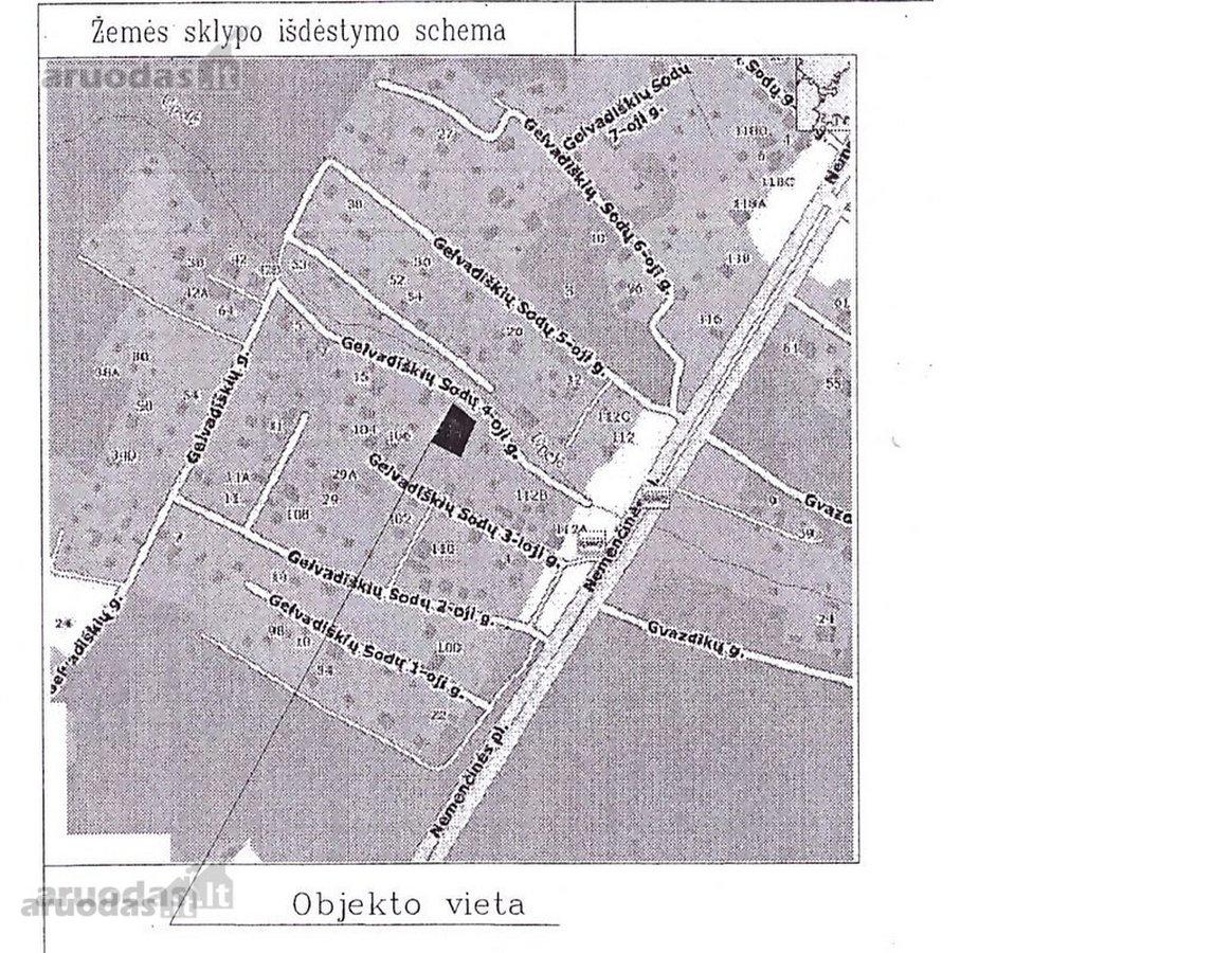 Vilnius, Antakalnis, Gelvadiškių Sodų 4-oji g., mūrinis sublokuotas namas