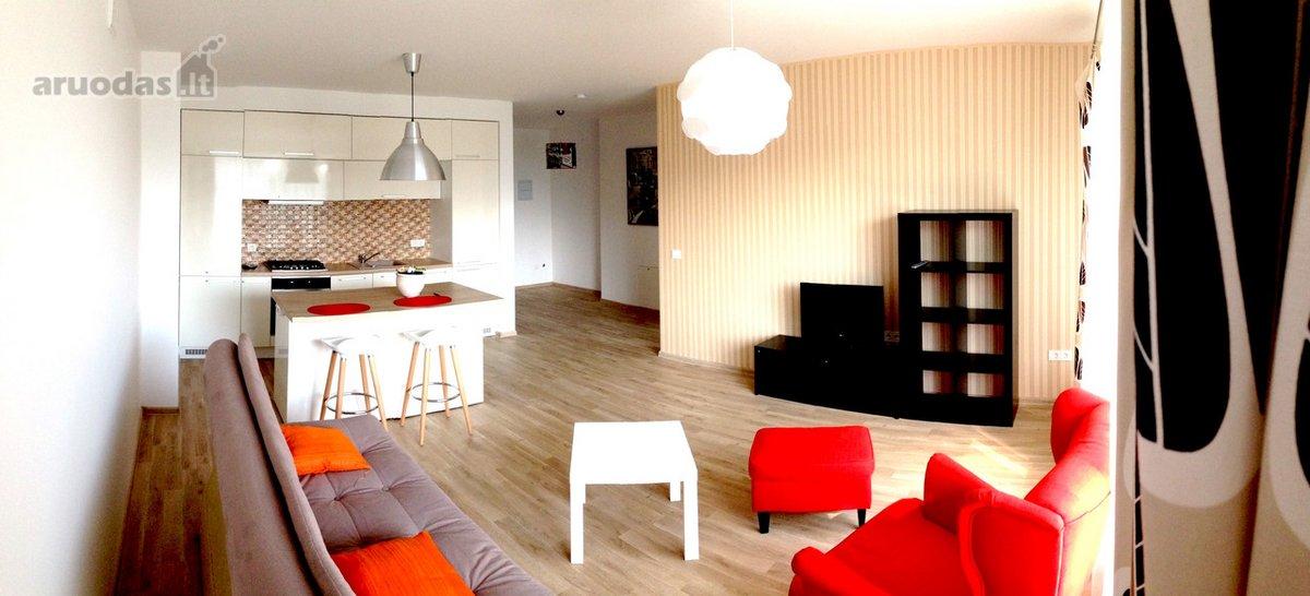 Kaunas, Vilijampolė, A. Strazdo g., 2 kambarių butas