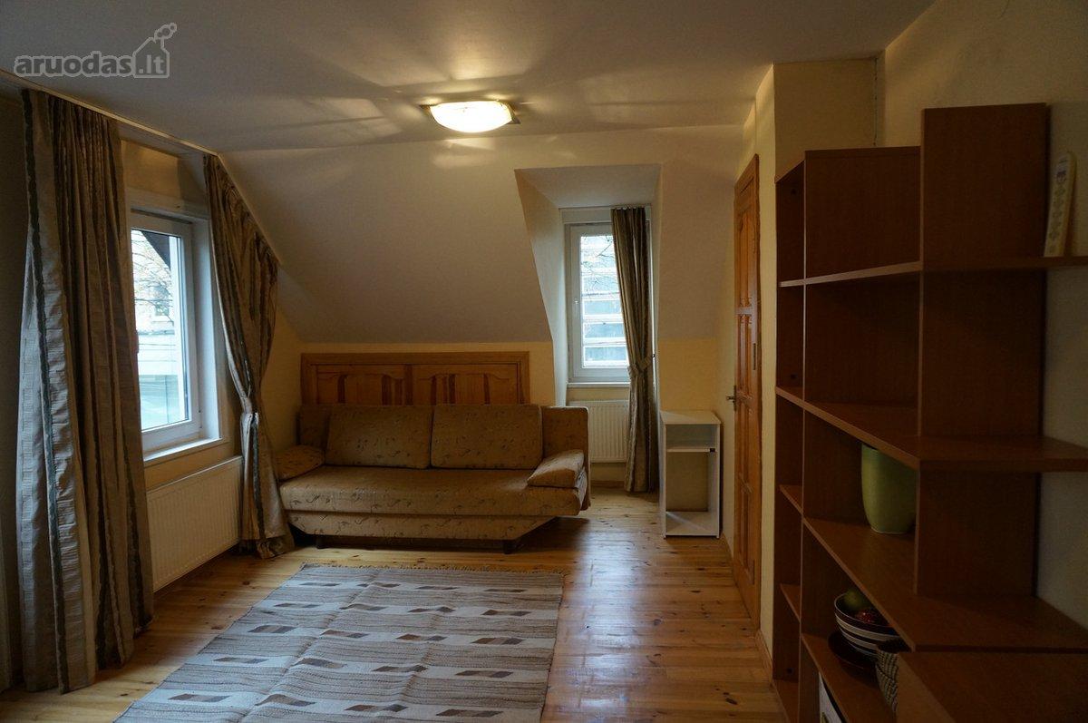 Vilnius, Žvėrynas, Pušų g., 1 kambario buto nuoma