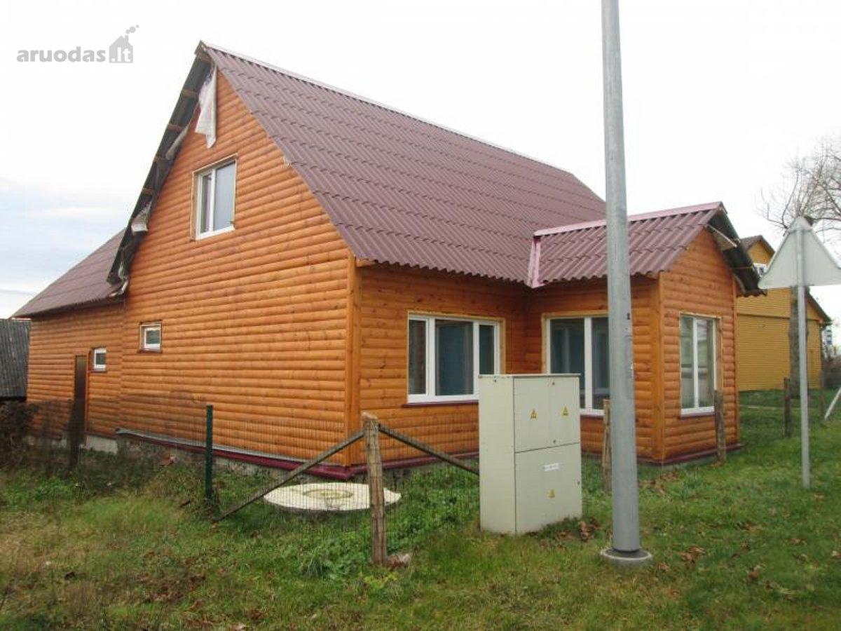 Ukmergės r. sav., Vidiškių mstl., Paupio g., medinis namas
