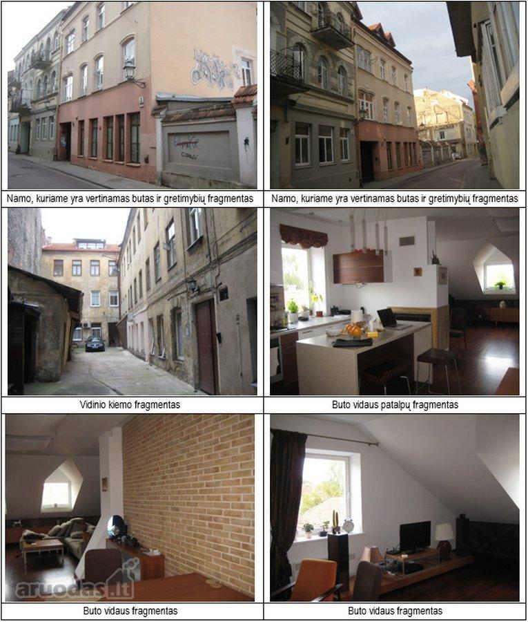 Vilnius, Senamiestis, Žemaitijos g., 3 kambarių butas
