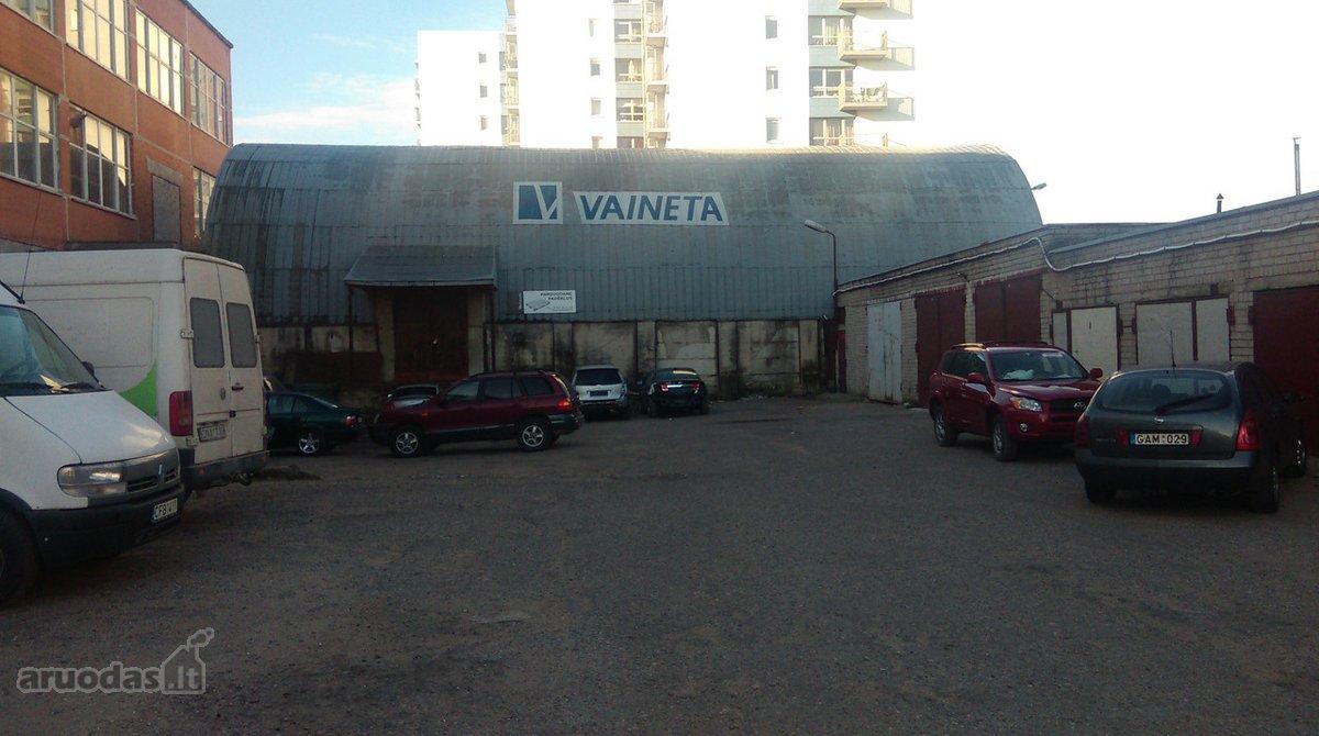 Klaipėda, Baltijos, Baltijos pr., biuro, sandėliavimo, gamybinės paskirties patalpos