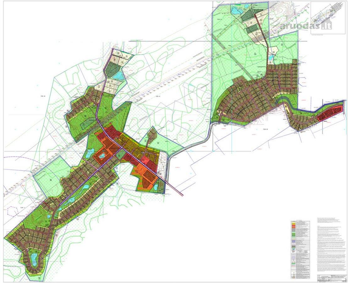 Širvintų r. sav., Blendės k., namų valdos, daugiabučių statybos, žemės ūkio, miškų ūkio, komercinės, rekreacinės paskirties sklypas