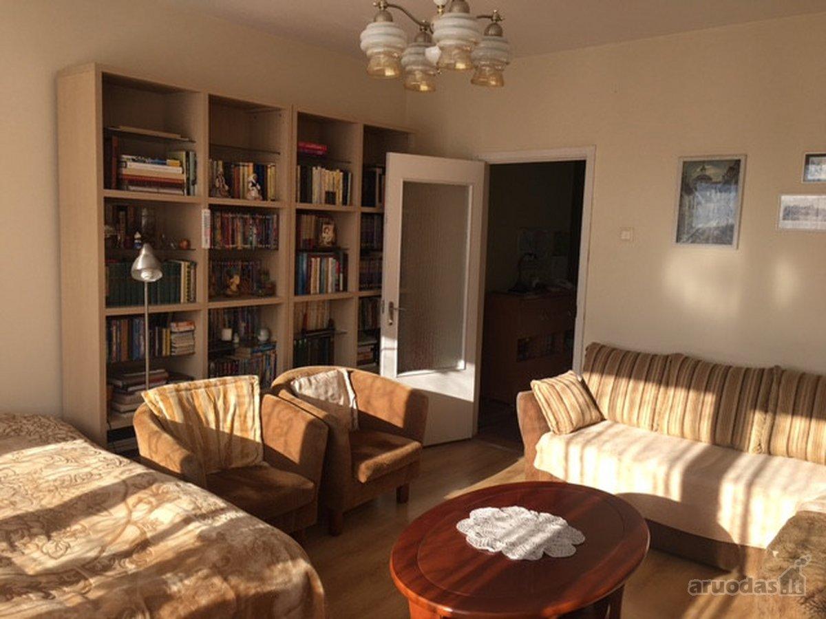 Vilnius, Antakalnis, Švyturio g., 3 kambarių butas