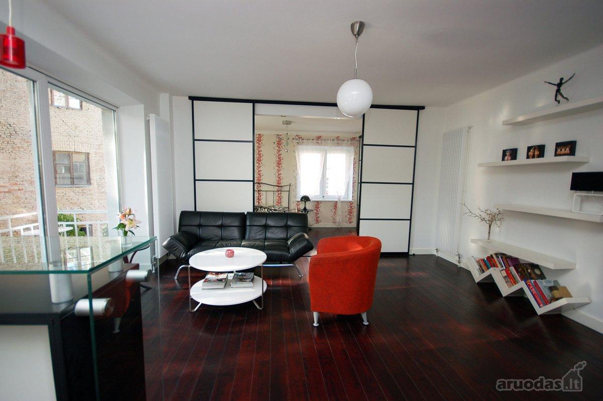Vilnius, Senamiestis, Vilniaus g., 2 kambarių buto nuoma
