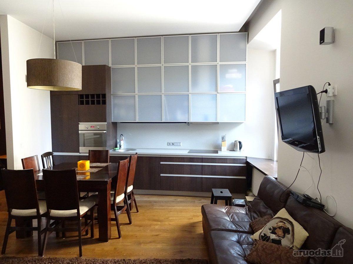 Vilnius, Senamiestis, Bokšto g., 2 kambarių buto nuoma