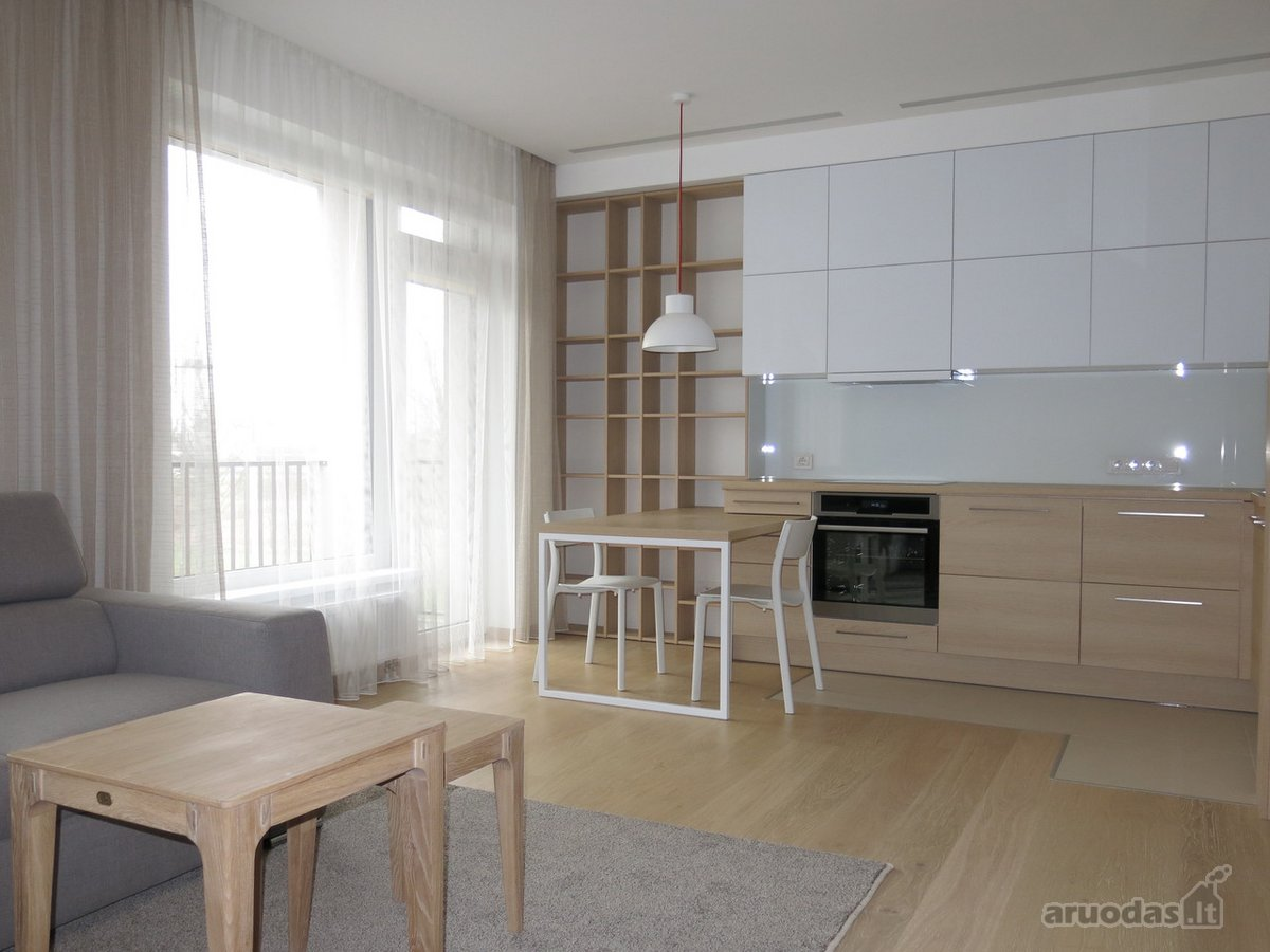 Vilnius, Verkiai, Kazio Ulvydo g., 1 kambario buto nuoma