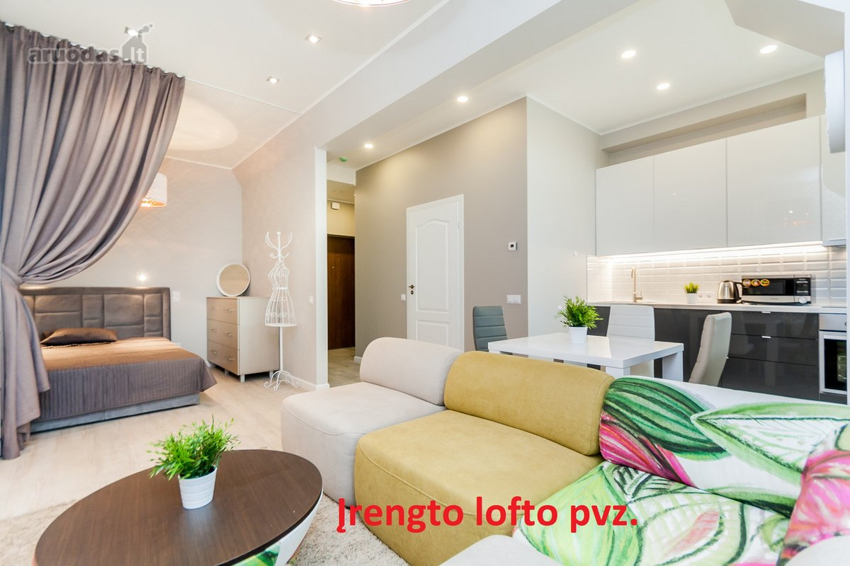 Vilnius, Žvėrynas, Saltoniškių g., 2 kambarių butas
