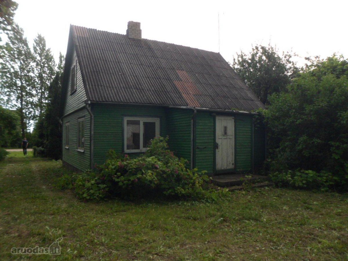 Vilkaviškio r. sav., Karklupėnų k., medinis namas