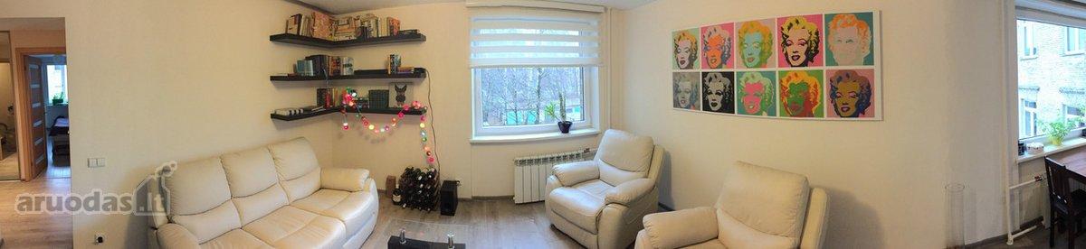 Vilnius, Naujamiestis, Algirdo g., 2 kambarių butas