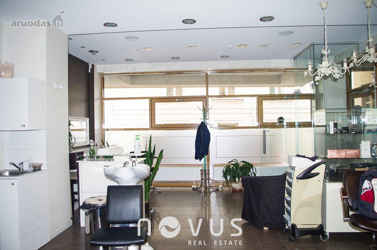 Vilnius, Senamiestis, Klaipėdos g., biuro, prekybinės, paslaugų paskirties patalpos nuomai