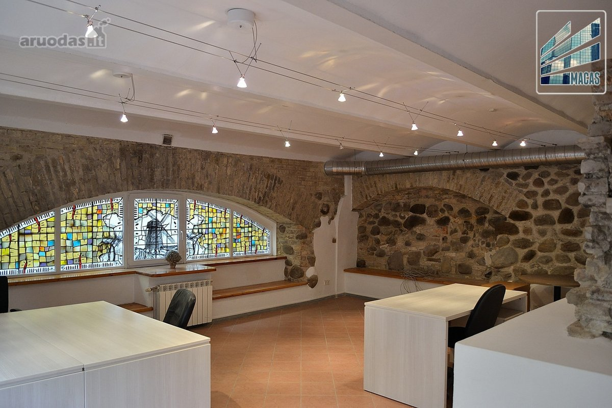 Vilnius, Senamiestis, Odminių g., biuro, prekybinės, paslaugų, kita paskirties patalpos nuomai