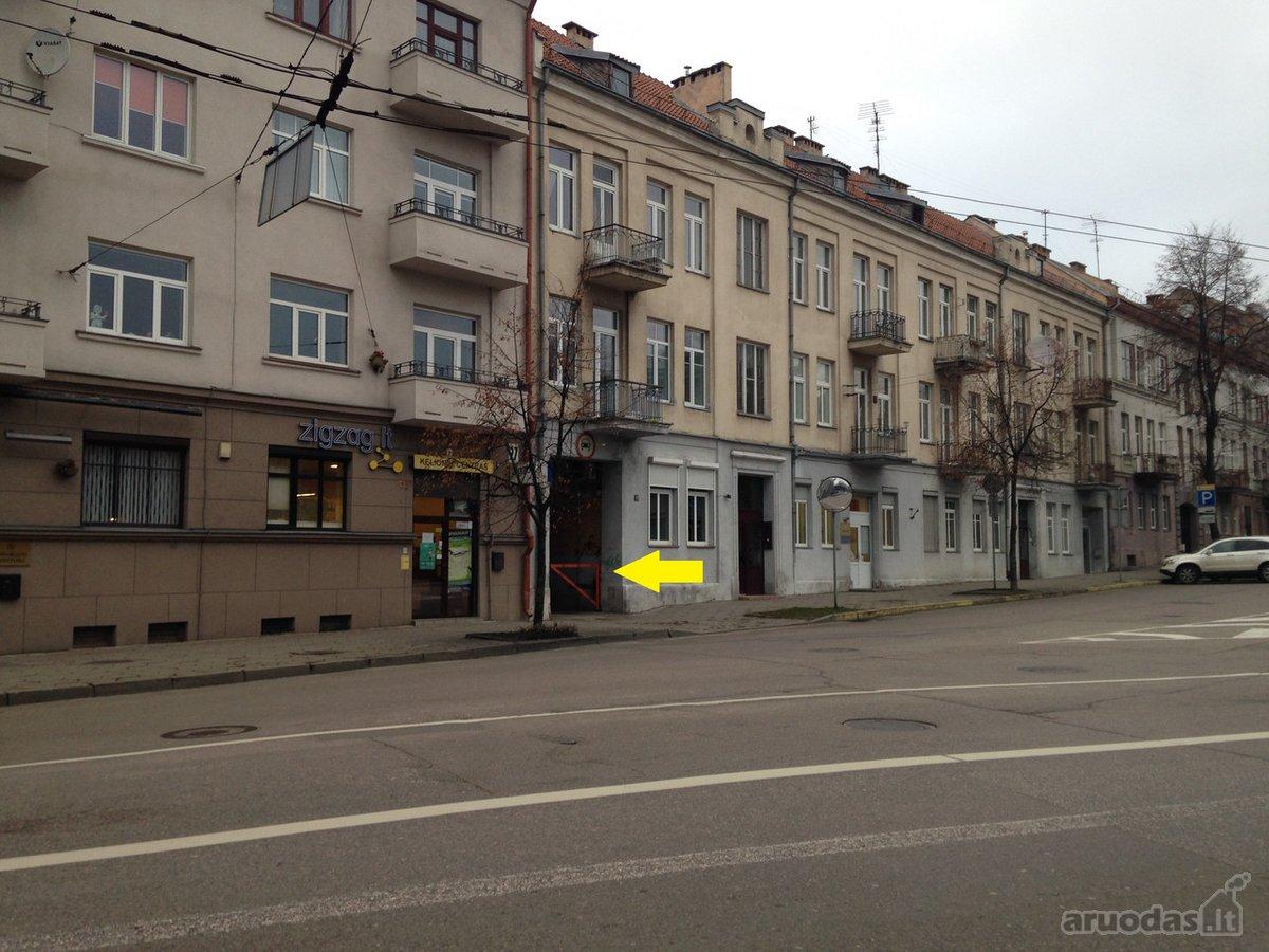 Kaunas, Centras, E. Ožeškienės g., mūrinis garažo nuoma