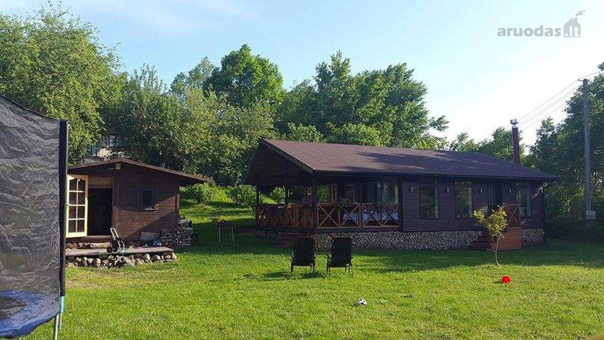 Kaišiadorių r. sav., Kaišiadorių m., karkasinis sodo namas