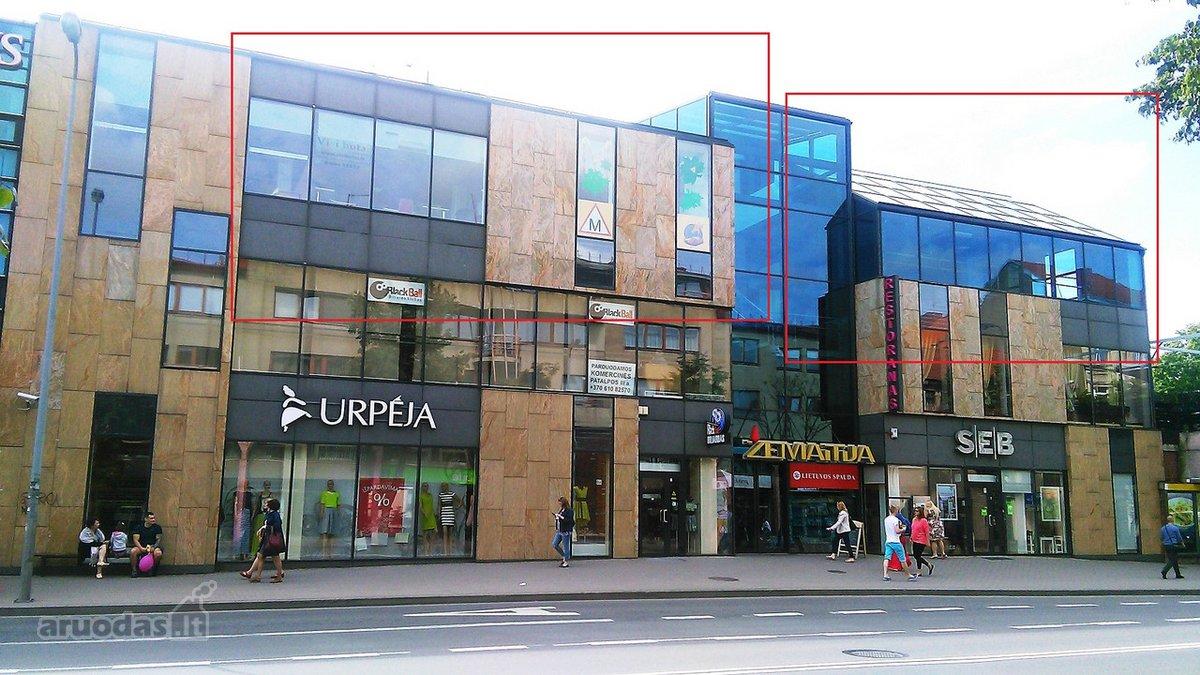 Klaipėda, Centras, H. Manto g., biuro, prekybinės, paslaugų, sandėliavimo, maitinimo, kita paskirties patalpos