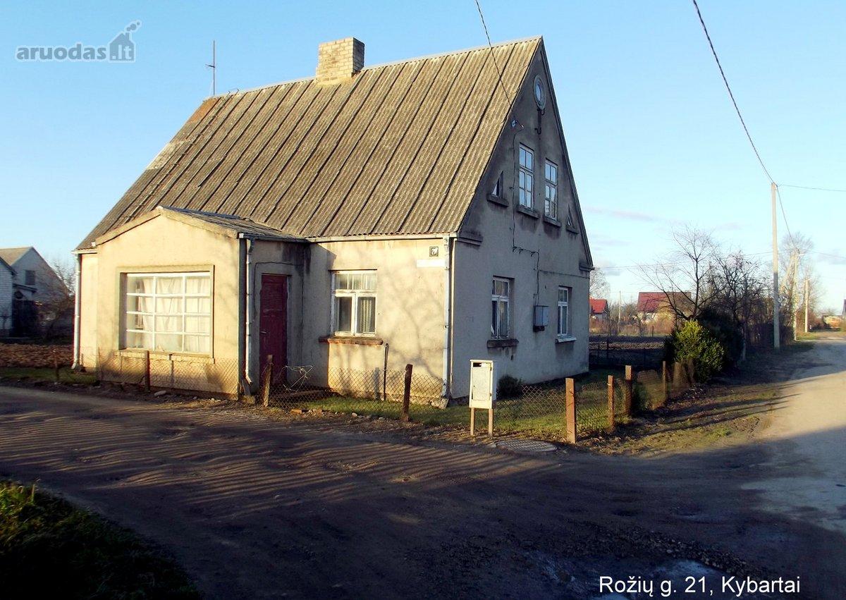 Vilkaviškio r. sav., Kybartų m., Rožių g., mūrinis namas