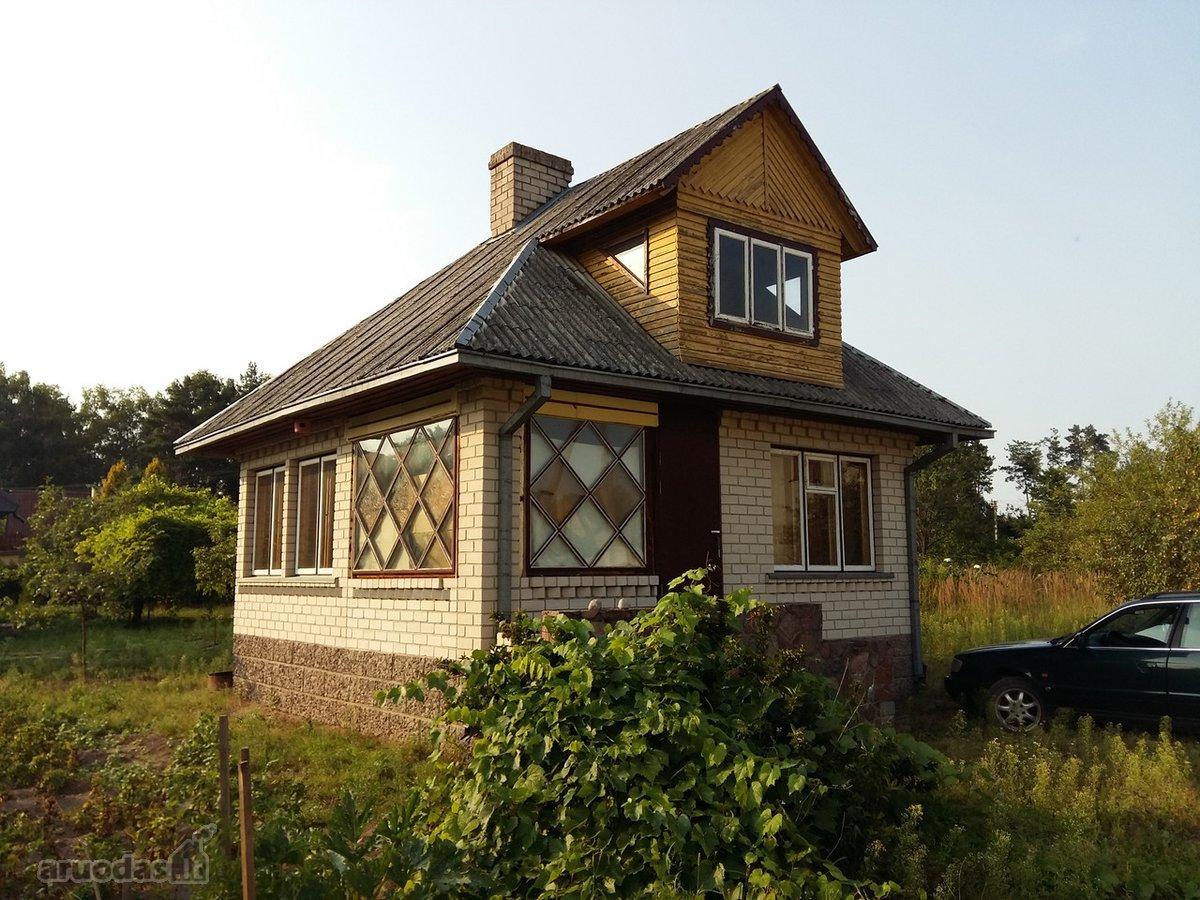 Kauno r. sav., Girionių k., Tvenkinio g., mūrinis sodo namas