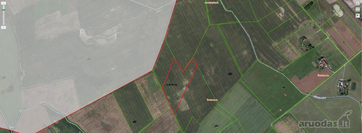 Prienų r. sav., Žuvintos k., agricultural purpose vacant land