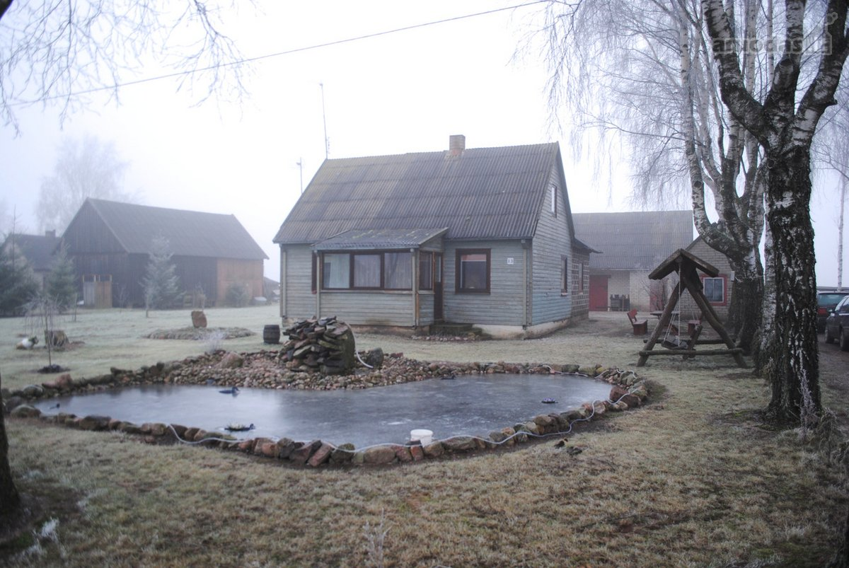 Raseinių r. sav., Anžilių k., Pievų g., medinis namas