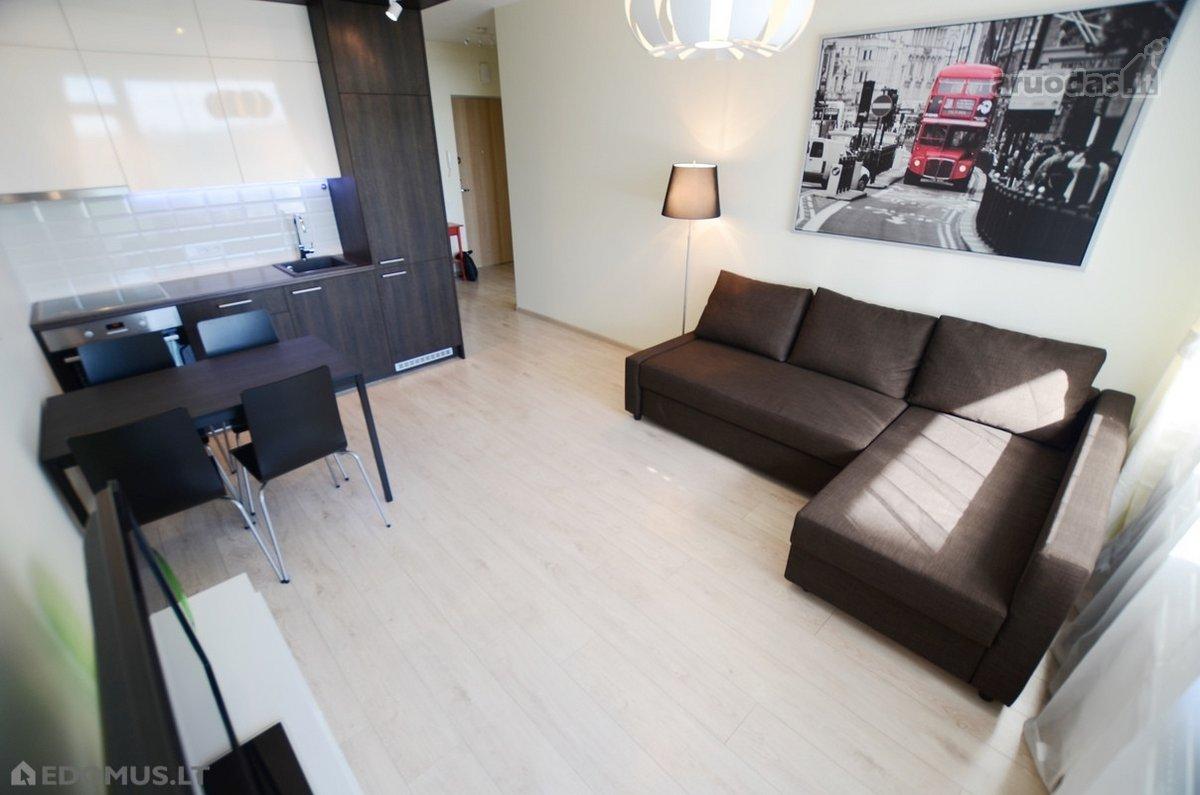 Vilnius, Baltupiai, Kazio Ulvydo g., 2 kambarių butas
