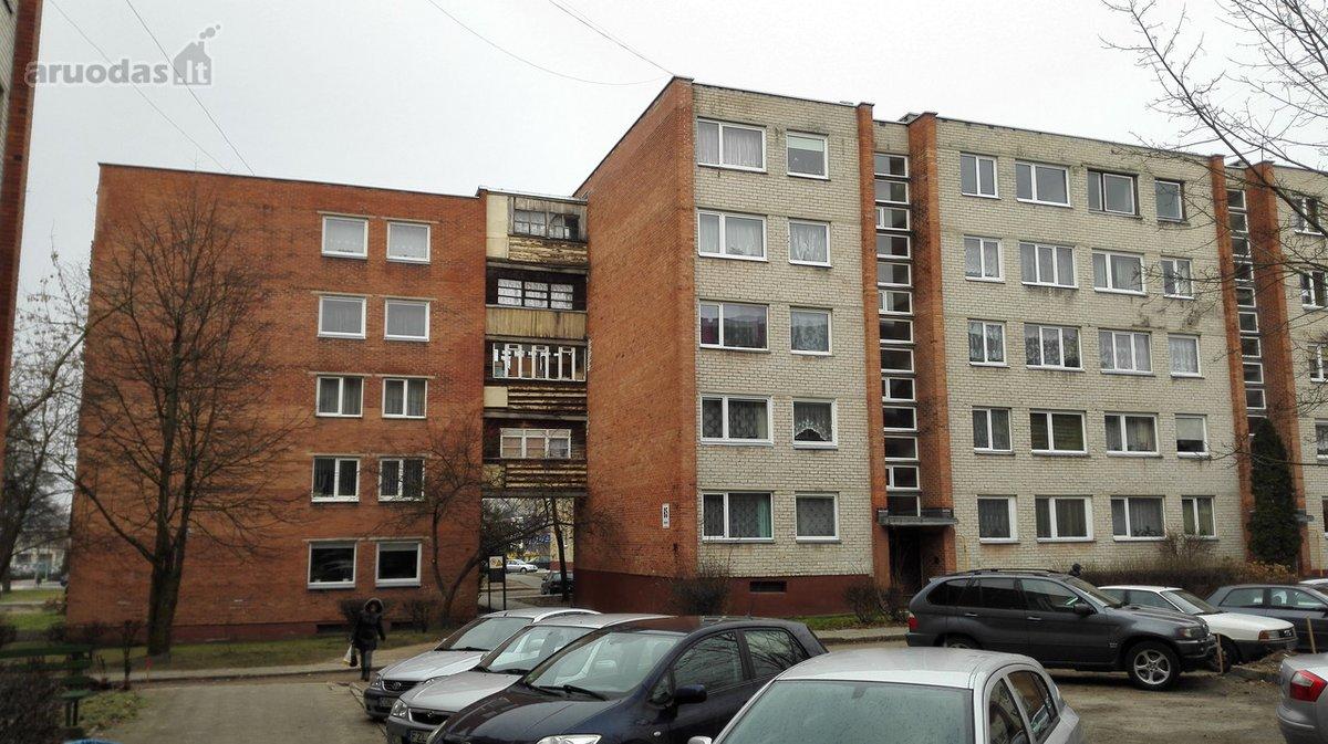 Utenos m., Dauniškis, Aušros g., 2 kambarių butas