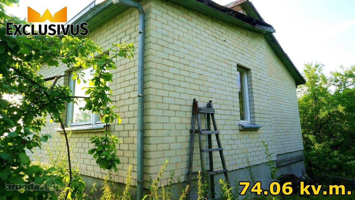 Elektrėnų sav., Geibonių k., Šilo g., mūrinis sodo namas