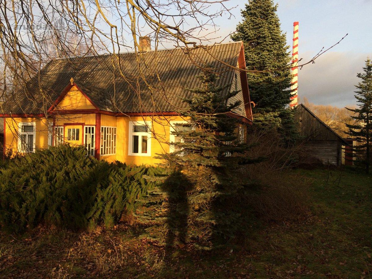 Elektrėnų m., Obenių g., medinis namas