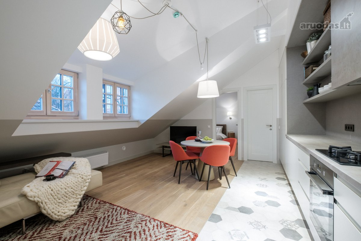 Vilnius, Senamiestis, Šv. Mikalojaus g., 3 kambarių buto nuoma