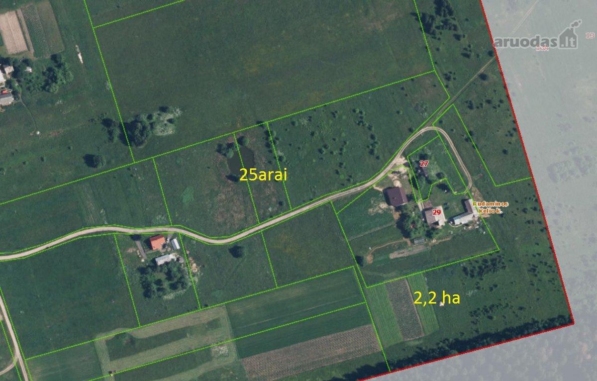 Vilniaus m. sav., Rudaminos Kelio k., žemės ūkio paskirties sklypas
