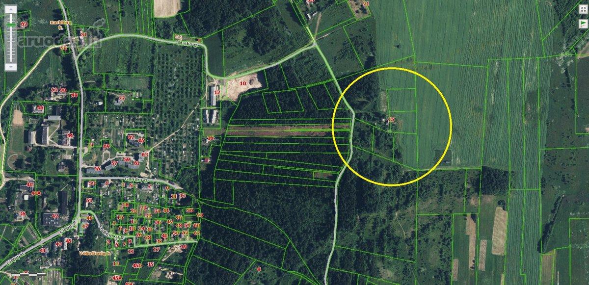 Vilniaus r. sav., Šatrininkų k., Miško g., žemės ūkio paskirties sklypas
