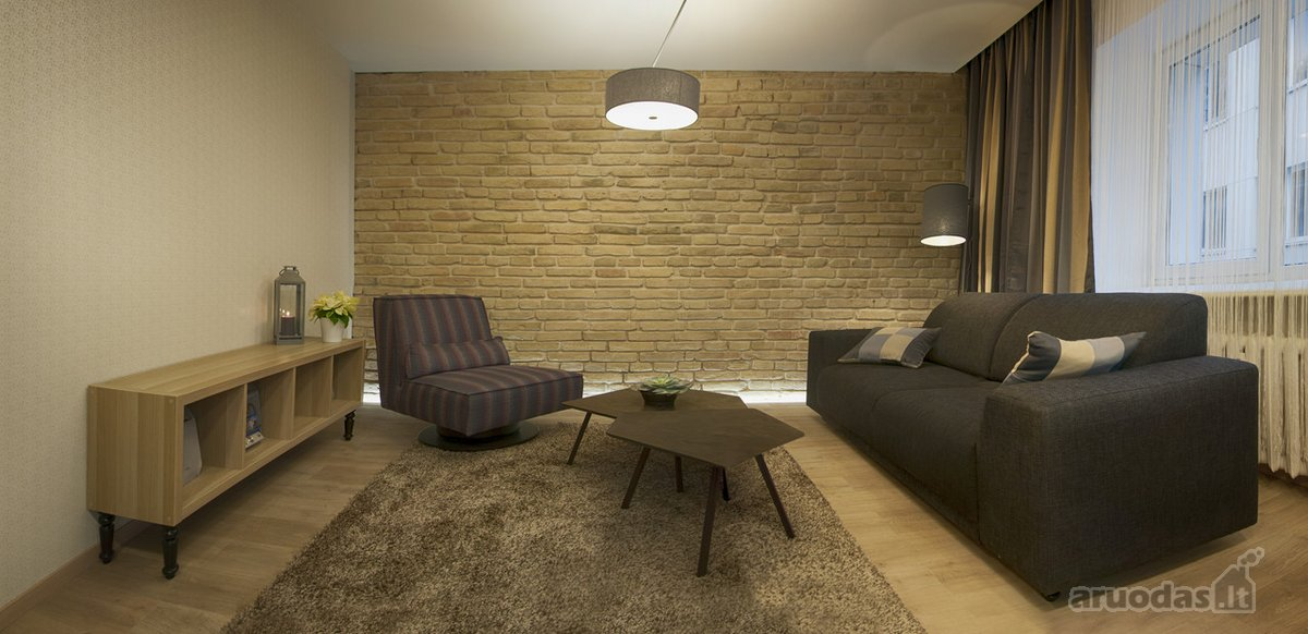 Vilnius, Užupis, Polocko g., 3 kambarių buto nuoma