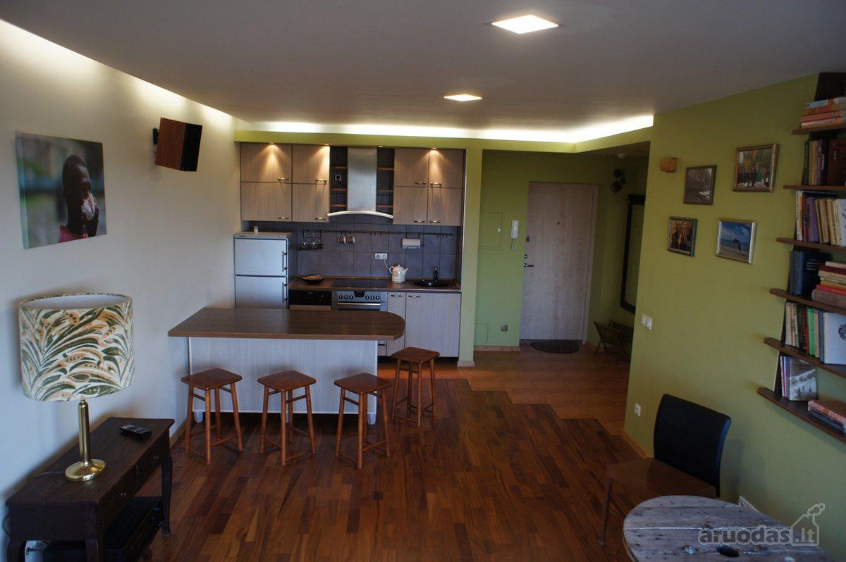 Vilnius, Antakalnis, V. Grybo g., 2 kambarių buto nuoma