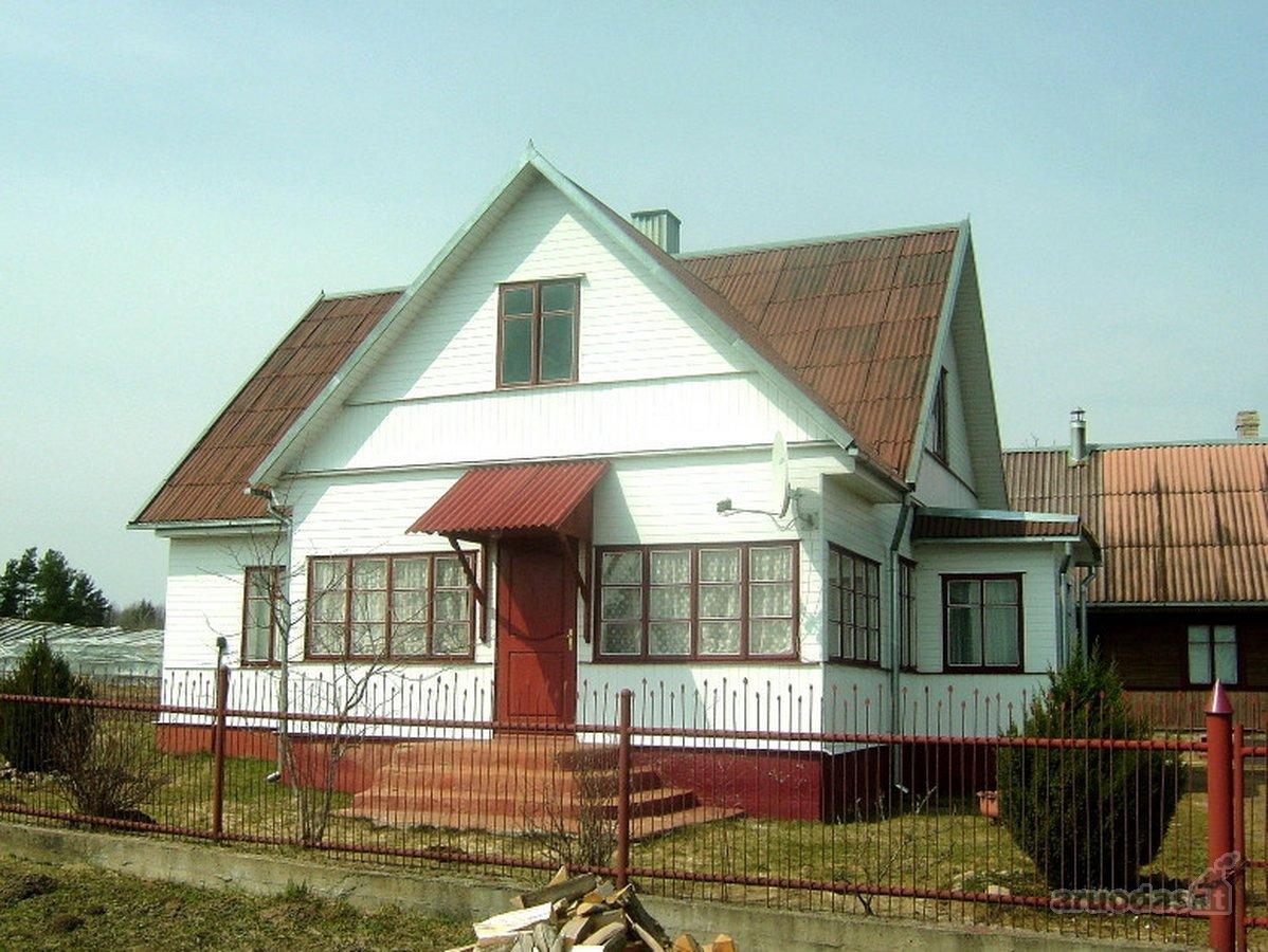 Vilniaus r. sav., Bareikiškių k., rąstinis namas